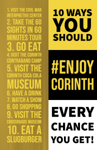 List of Ten Things to Do in Corinth MS
